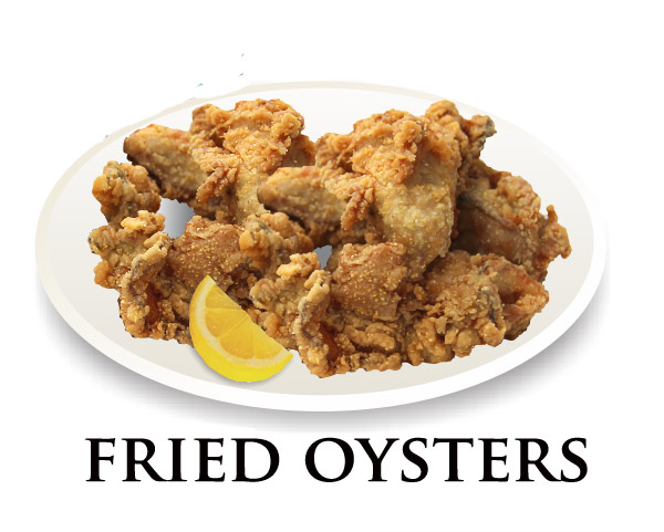 Nicks Fried Oyster Platter