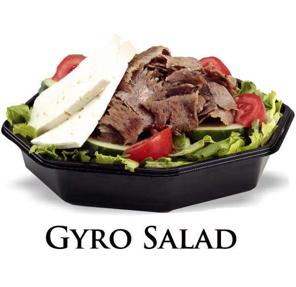 Nicks Gyro Salad